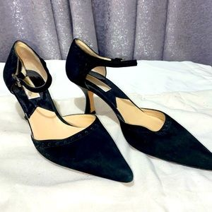 Black Suede Michael Kors Shoes